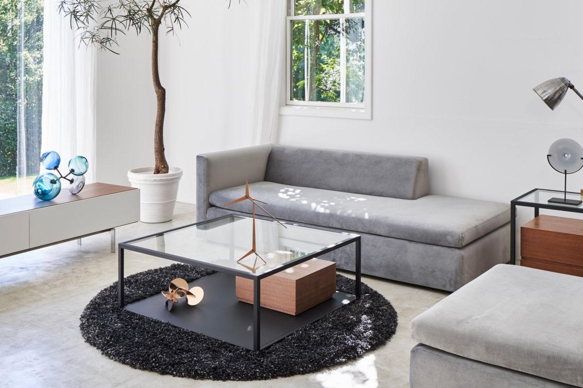 Samga sofa with ottoman